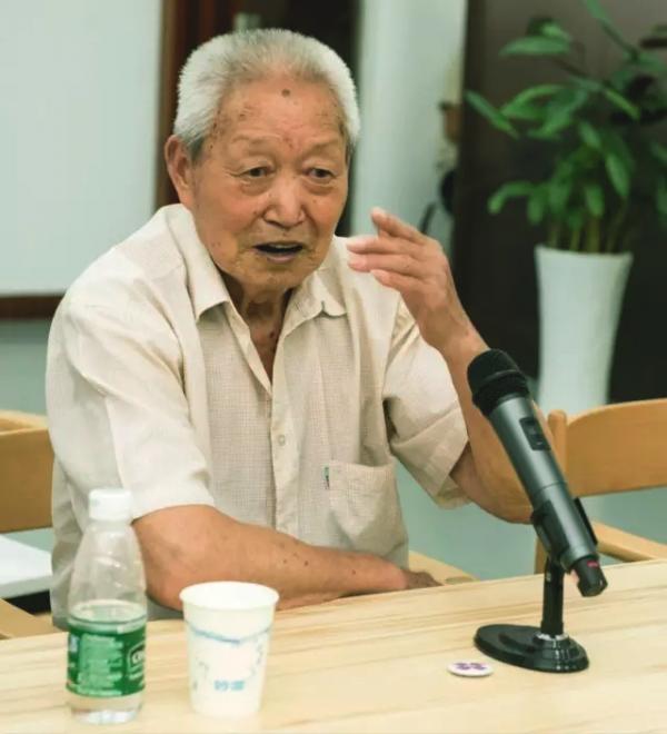 난징대학살 당시 13살이었다는 생존자. 80년 가까운 시간이 흘렀지만 그날의 순간은 아직도 생생하다.  - 난징대학살기념관 제공